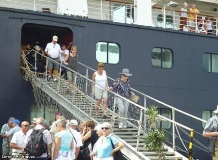 cruceros ciudad puerto manta ecuador