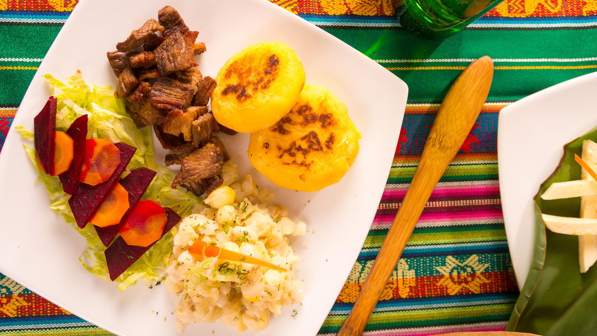 gastronomia ecuador feria chile turismo comercio