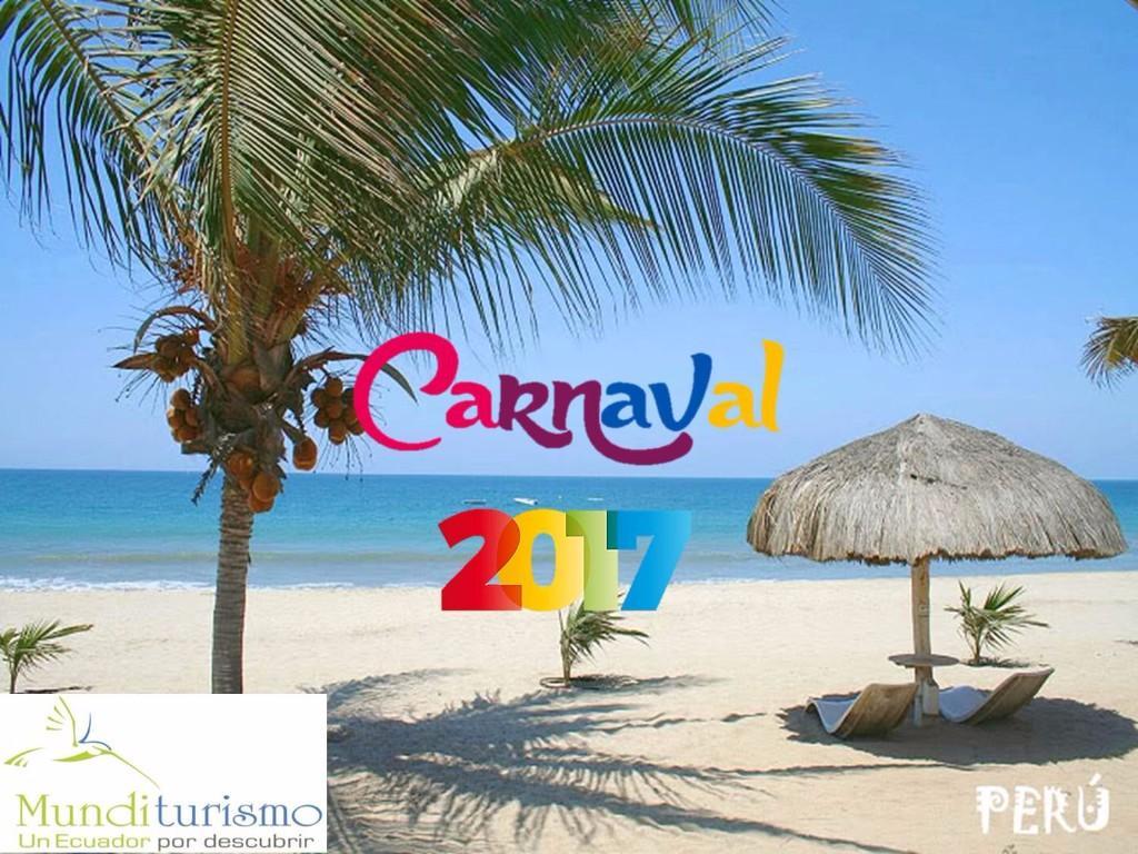carnaval 2017 feriado playas turistas ecuador