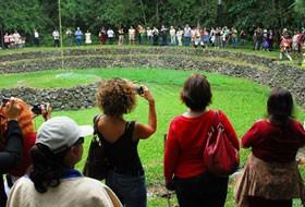 Turismo científico en las Islas Galápagos Ecuador solsticio