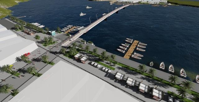 Puente de 350 metros se encuentra operativo en la Isla Muisne