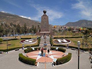 Quito cuenta con nuevos atractivos turísticos, mitad del mundo. Ecuador