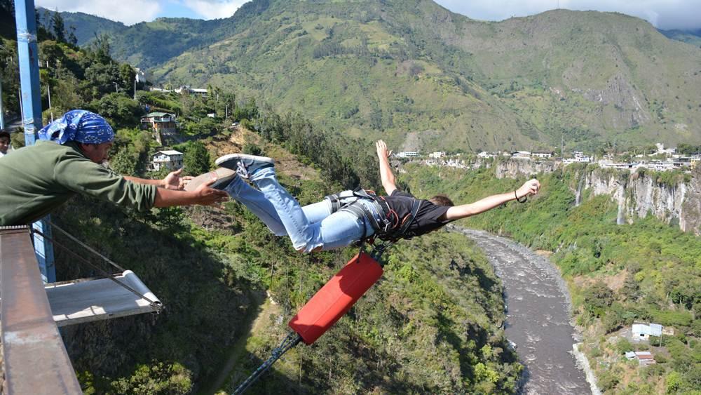 La variada oferta de turismo de aventura en Ecuador.