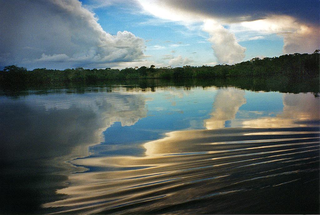 Turismo en canoa selva amazónica del Ecuador. Excursiones Río Napo