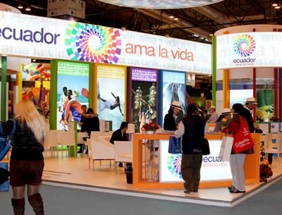 Ecuador hace marketing de su oferta turística en Feria de Turismo Fitur España