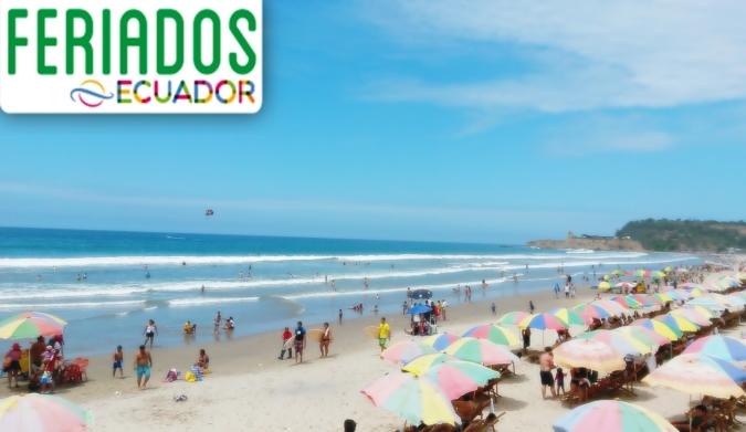 Feriado del 24 de Mayo no cumplió con las expectativas de llegada de turistas. Playas del Ecuador