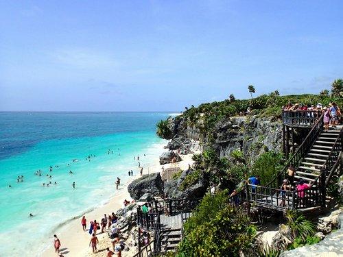 México uno de los destinos favoritos del turista ecuatoriano. Turismo 2019