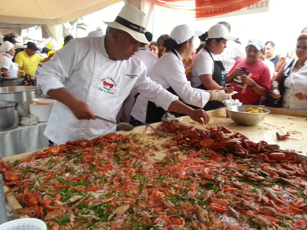 Festival del cangrejo una feria que atrae turistas a Naranjal