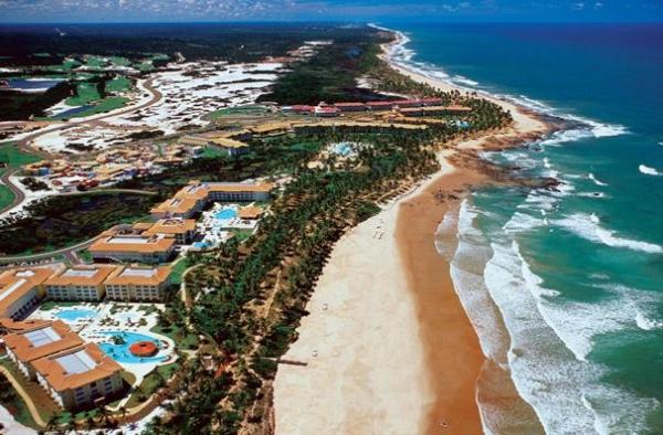 Costa do Sauipe una de las hermosas playas de Brasil para ir de vacaciones