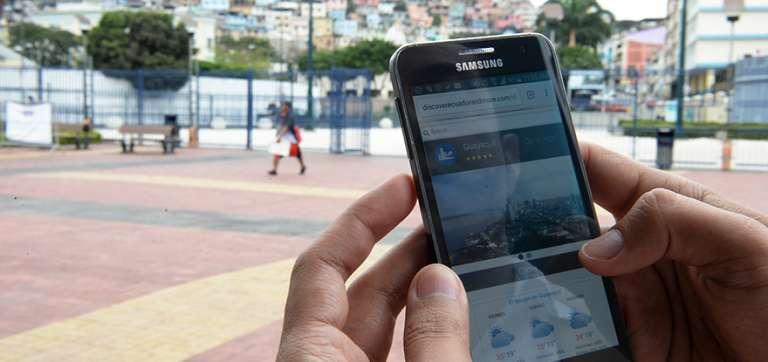 Mapa turístico en 3D para conocer Guayaquil con teléfonos inteligentes y tablets
