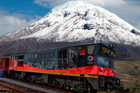 Nueva ruta de viajes en tren, Latacunga Ambato. Turismo Ecuador