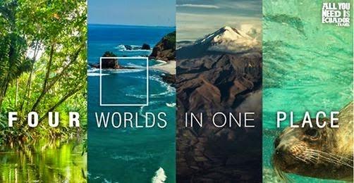 Cuatro Mundos es la campaña promocional para el turismo del Ecuador en la Fitur 2020
