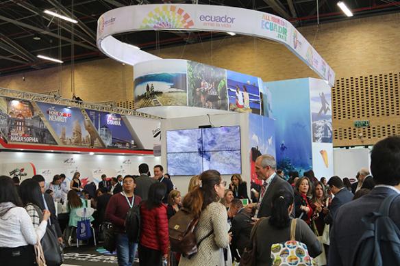 Ecuador promueve su oferta turística en la ANATO Colombia