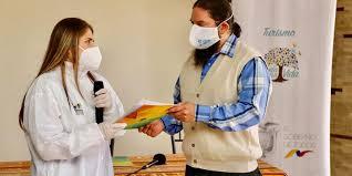 Guía de Bio Seguridad repartida por el Ministerio de Turismo del Ecuador
