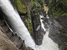 Baños de Agua Santa pasa a semáforo Amarillo. Turismo Ecuador