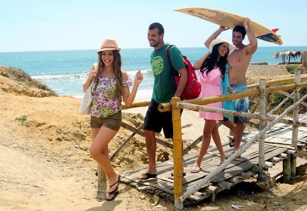Playas de Ecuador buscan reactivarse. Turismo