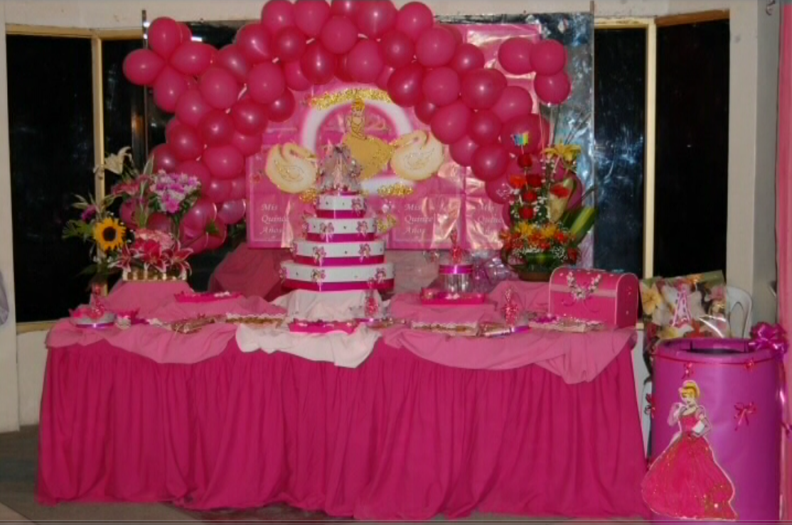 Decoraciones y preparaci n para eventos especiales galer a for Decoracion quinceanera