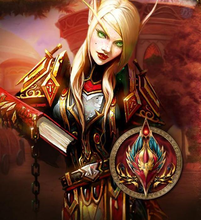 Hentai de elfo de sangre de World of warcraft