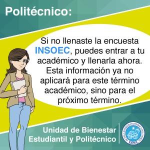 INGRESO DE ENCUENTA INSOEC