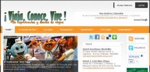 Mi nuevo blog ¡Viaja, Conoce, Vive!