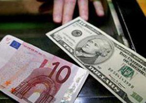 Cambio de dólares a euros precios en el mercado de divisas