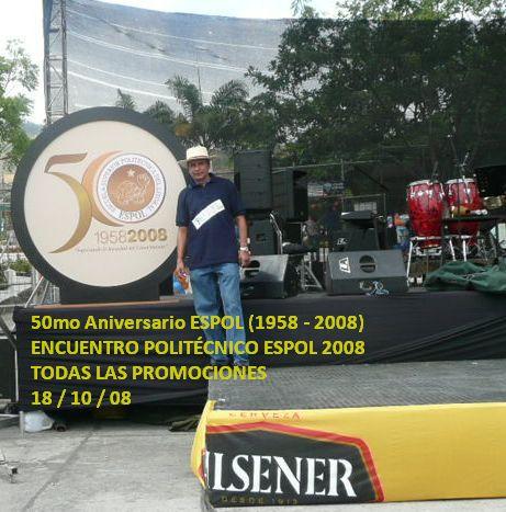 HECTOR, UNO DE LOS CONDUCTORES DEL ENCUENTRO ESPOL 2008