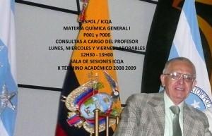 CONSULTAS QUÍMICA GENERAL I (2DO TÉRMINO 08 - 09)