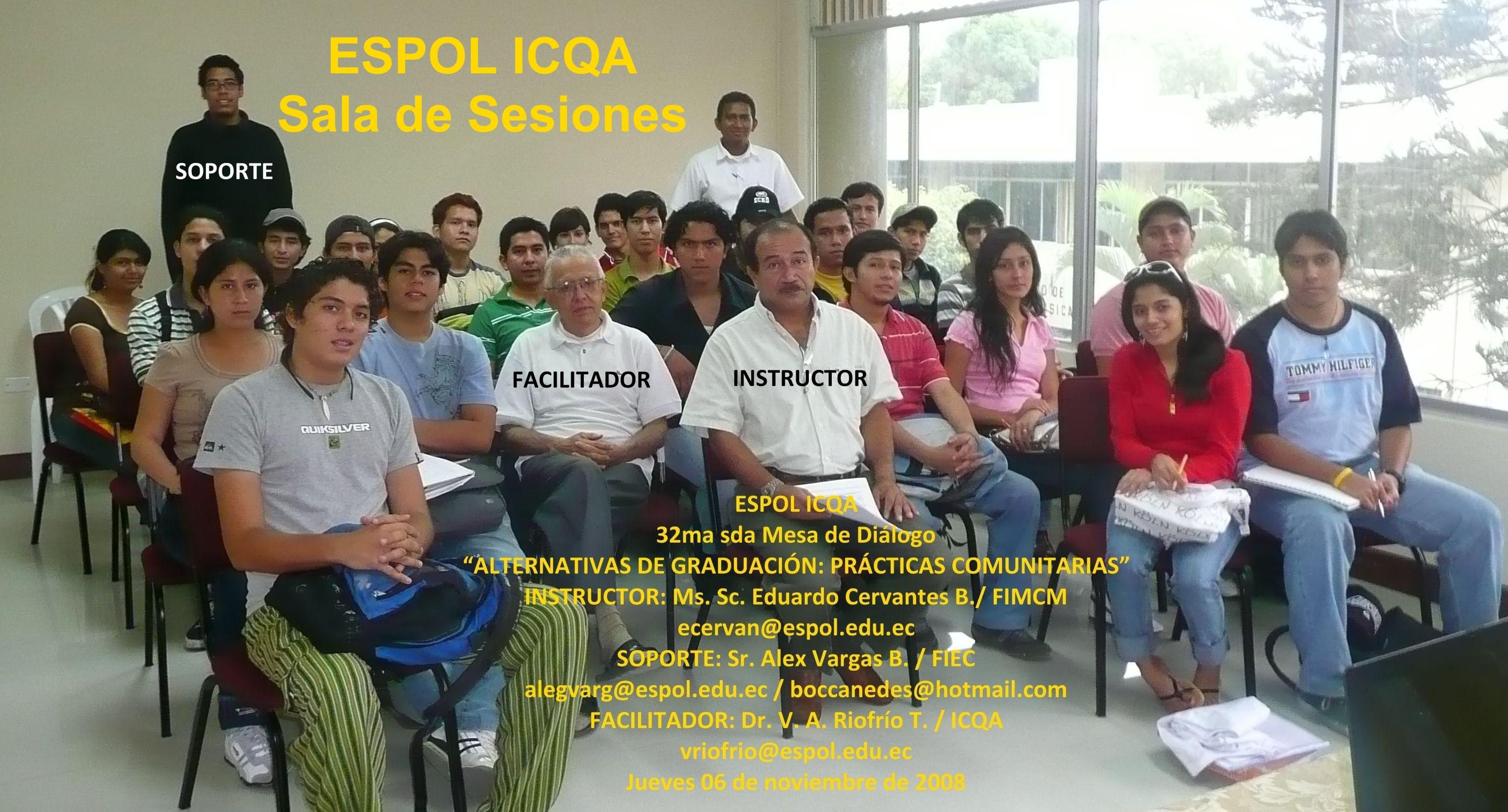 Ms. Sc. Eduardo Cervantes B./ FIMCM