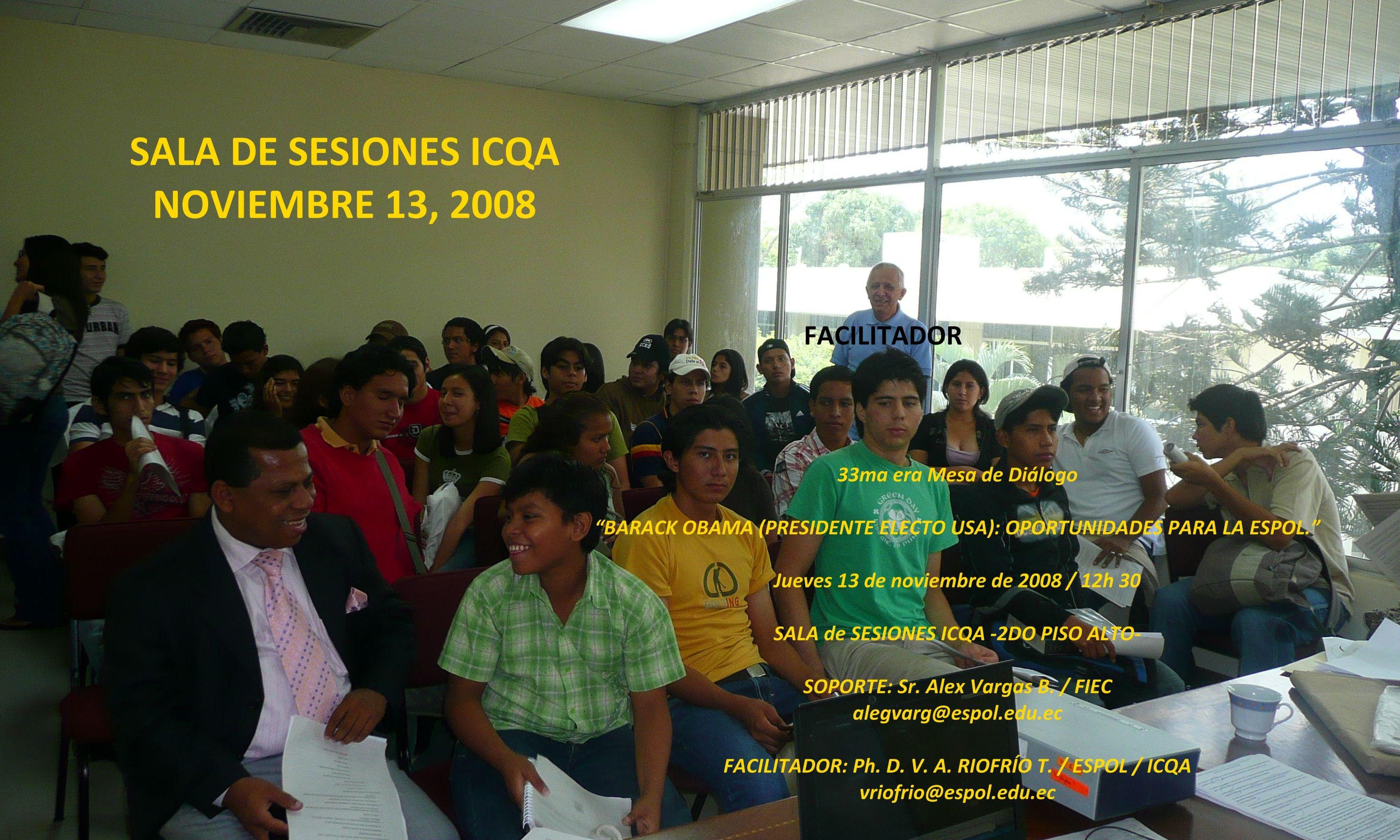 """OPORTUNIDADES PARA LA ESPOL"""""""