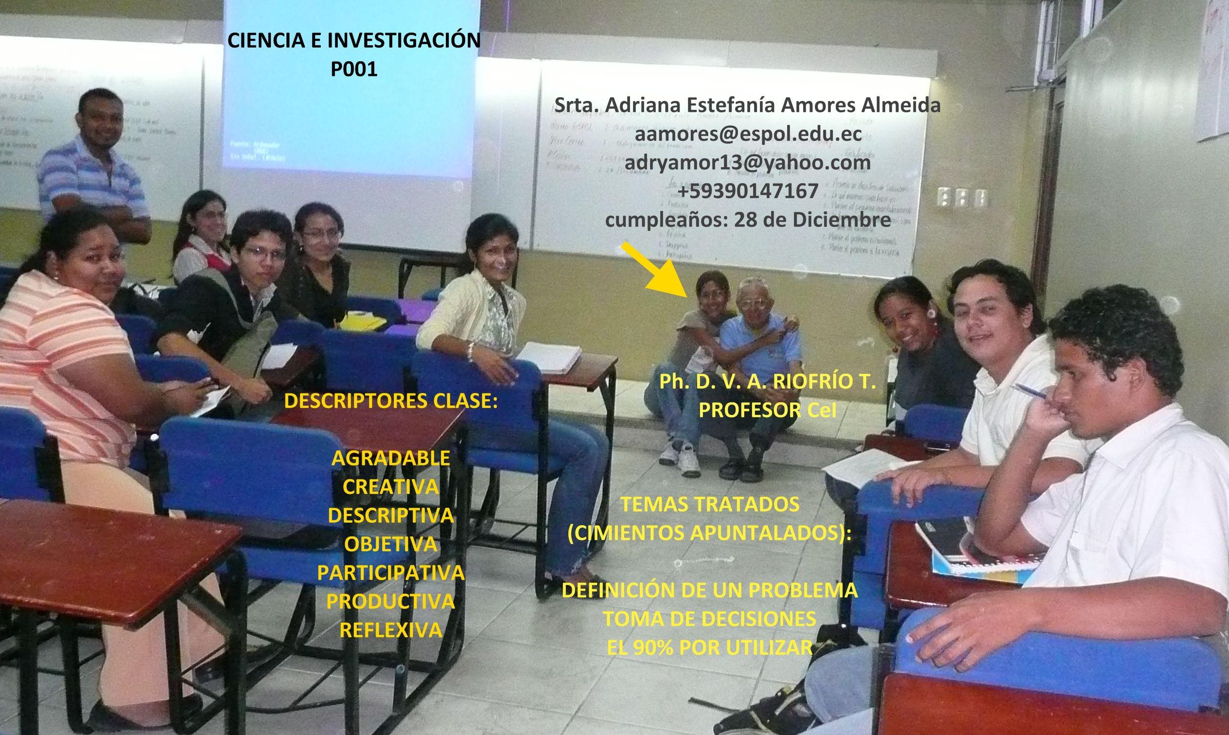 Srta. AdrianA E. Amores A.