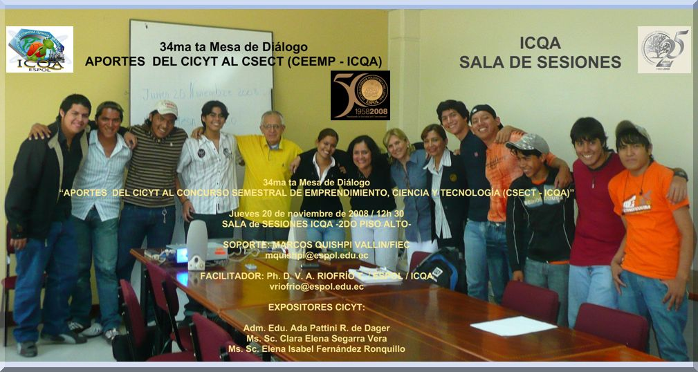 APORTES  DEL CICYT AL CSECT (CEEMP - ICQA)