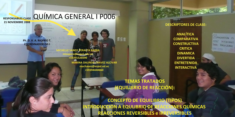 RESPONSABLES 21-11-08 Srta.Michelle peralta Barba y Srta. Marina Chavez Alcivar