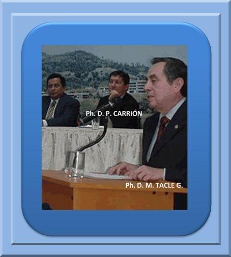 """AUTORES DEL LIBRO """"EL DESARROLLO DE LA INVESTIGACIÓN EN LA ESPOL"""" AUTORES P. CARRIÓN M. y M. TACLE   G. 2008"""
