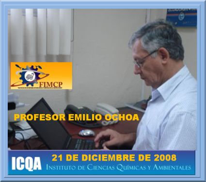 ENTREVISTADO PROFESOR EMILIO OCHOA 20 - 21 Diciembre de 2008