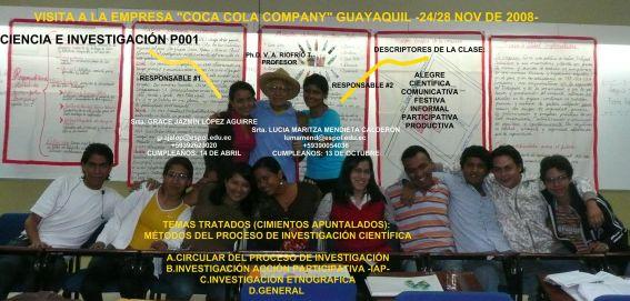 RESPONSABLES 01/12/08 Srtas. GRACE JAZMÍN LÓPEZ AGUIRRE y LUCIA MARITZA MENDIETA CALDERÓN