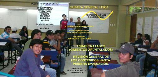 COMPAÑERO RESPONSABLE PARA CLASE 05-12- 08 / Sr. KEVIN PALMA B.