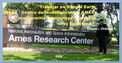 Google Earth (NASA / Centro de investigaciones AMES) interacción con personas muy talentosa
