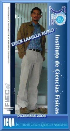 ERICK ABRAHAM  LAMILLA RUBIO