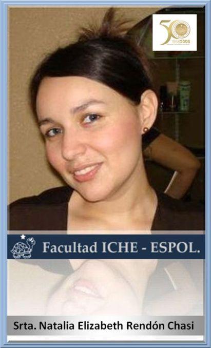 Entrevistada Srta. Natalia Elizabeth Rendón Chasi, 2 d enero de 2009