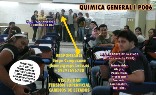 RESPONSABLE CLASE 12 de ENERO de 2009 Sr. Jorge Campuzano
