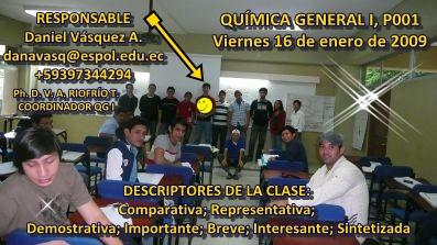COMPAÑERO RESPONSABLE P001 Daniel Vásquez A.