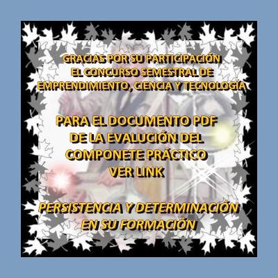 EVALUACIÓN QUÍMICA GENERAL I COMPONENTE PRÁCTICO 18 02 09