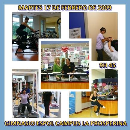 MASAJES EN EL GIMNASIO 17 / 02 / 09