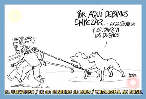 EDUCANDO A LOS DUEÑOS / TAREAS DE LAS MASCOTAS / COLUMNA DE BONIL