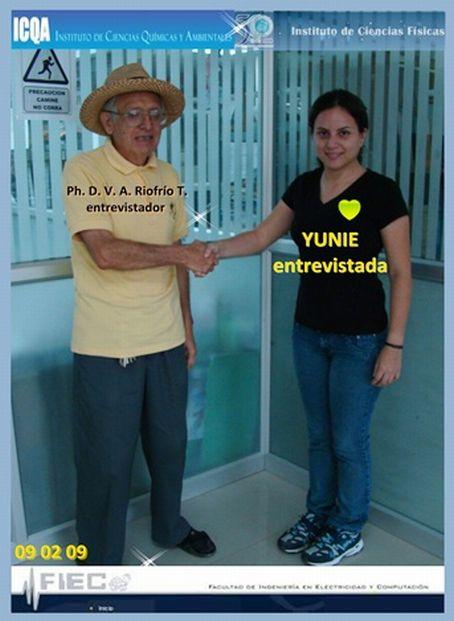YUNIE EN EL ICQA