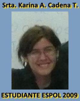 Srta. KARINA A. CADENA T.