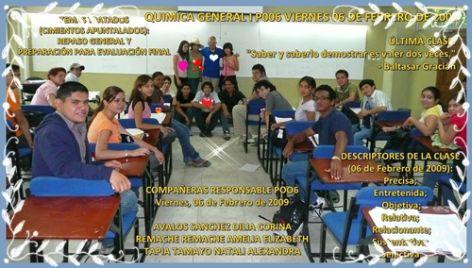 COMPAÑERAS RESPONSABLE POO6