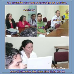 2da REUNIÓN CLUB de BLOGGER ESPOL DISCUSIÓN Y APORTES