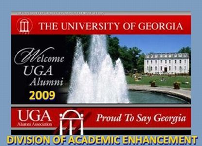 PROUD TO SAY UGA