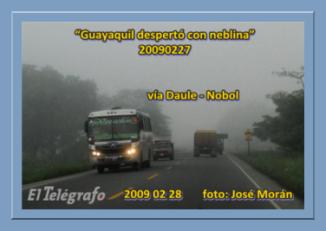 foto de José Morán DIARIO EL TELEGRAFO 20090228